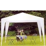 Weiß 2x3 Stahl Pavillon für Outdoor-Möbel