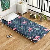 JIAOHJ Tatami Bett Matratze,Anti-rutsch Falten Mat,Einzel doppel Stock schlafen pad nap,Für Leben Zimmer schlafsaal Yoga-A 200x220cm(79x87inch)
