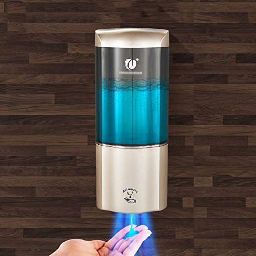 omatischer soap-dispenser Gehobenen sie Wandmontage typ Hotels Haushalt Badezimmer Küche Shampoo box Lotion-flaschen Waschmittel Bad Seifenkiste -500 ml-C (Punch Dispenser)