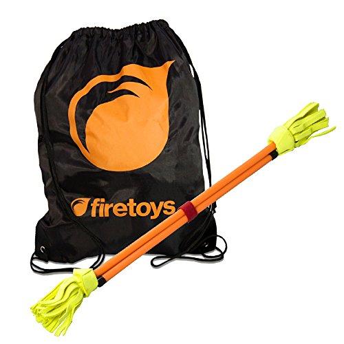 rbiges Flowerstick-Set, Orange, mit Firetoys-Tasche ()