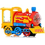 Toysery Train Toy For Kids Children With Music And Sounds Battery Operated.(Colors May Vary)