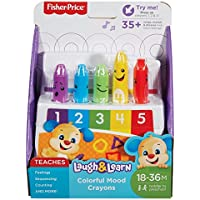 Fisher-Price DRF67 Laugh and Learn Colourful Moods Crayons - Multicolor