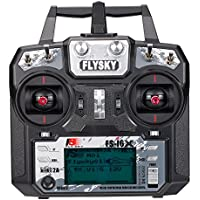 Goolsky Flysky FS-i6X 2.4GHz 6CH AFHDS 2A RC Transmitter with FS-iA6B Receiver for RC Drone Airplane Helicopter - Compare prices on radiocontrollers.eu