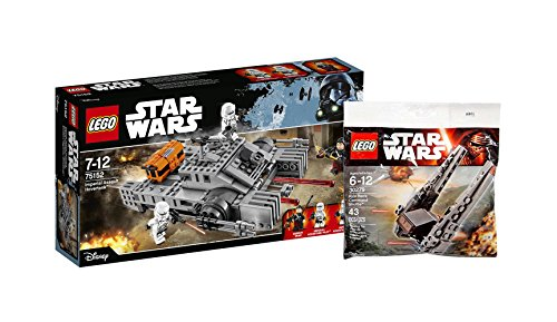 LEGO Star Wars Set – 75152 Imperial Assault Hovertanktm + 30279 Kylo Ren's Command Shuttle In Poly Bag