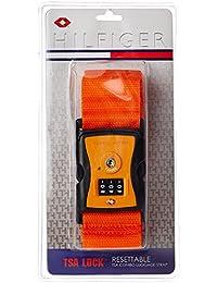 Tommy Hilfiger Orange Luggage Strap (TH/TSA11A22)