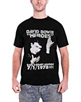 David Bowie 'Heroes Earls Court' T-Shirt