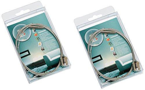 Walther Design MD150SD Doppio Corda Foto con Magneti, Metallo, Argento, 9 x 4 x 16 cm