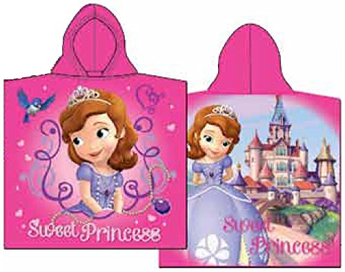 te Sweet Prinzessin Handtuch mit Kapuze Poncho (Prinzessin Kapuzen-handtuch)