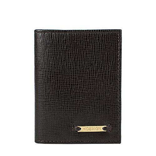 hidesign Black Men's Card Holder (MANHATTAN-Brown)  available at amazon for Rs.899