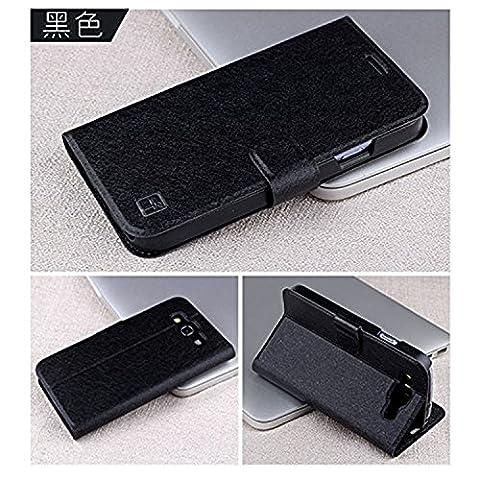 ARTLU® Wallet Flip Case Cover Housse Portefeuille Etui Pour Coque Samsung Galaxy Grand Neo (GT-i9060, GT-i9060DS, GT-i9060L) , Stylus et Film protecteur inclus A16