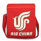 AIR CHINA KULT TASCHE von XTRADEFACTORY Sporttasche Umhängetasche Retro Bag rot