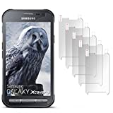5X Samsung Galaxy Xcover 3 | Schutzfolie Matt Display Schutz [Anti-Reflex] Screen Protector Fingerprint Handy-Folie Matte Displayschutz-Folie für Samsung Galaxy Xcover 3 Displayfolie