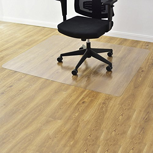 COSTWAY Bodenschutzmatte Bodenschutz Büro Stuhl Unterlage Boden Schutz Matte PVC 2 Größen zur Wahl (120x150cm)