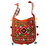 A Woomaniya Multicolor Boho Bag