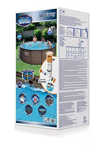 Bestway – Power Steel Frame Pool Deluxe Komplettset - 3