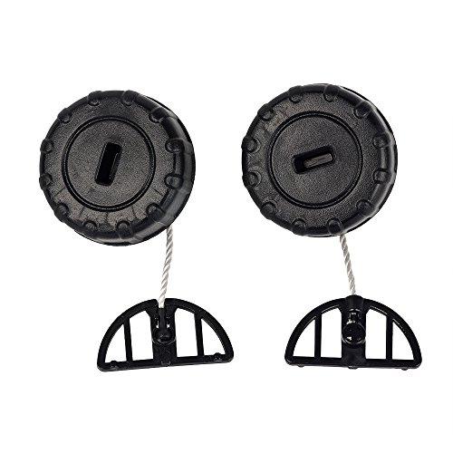 Ersatz-Tankdeckel, Ersatz-Öldeckel für Stihl Kettensägen 017, 018, MS170, MS180, von Beehive Filter