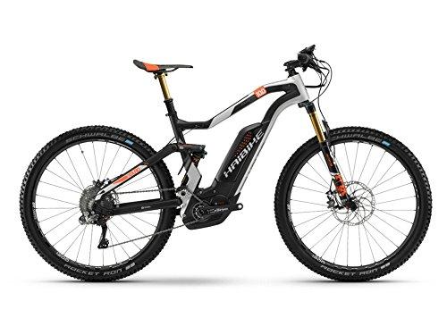 Haibike XDURO FullSeven Carbon 10.0 E-Bike 500Wh E-Mountainbike carbon/silber/orange matt