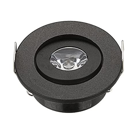 10Mini-LED-Spots 3W LED-Spot schwarze LED-Einbauleuchte / -Deckenleuchte für