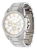 Tom Tailor Herren-Armbanduhr Chronograph silber 5416702