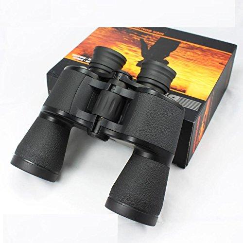 WJ Fernglas High Power Hd 20x50 Outdoor Nachtsicht Nicht-infrarot-camping,Schwarz