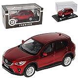 alles-meine.de GmbH Mazda CX-5 Rot SUV Ab 2011 limitiert Triple 9 1 von 1008 1/43 Ixo Modell Auto mit individiuellem Wunschkennzeichen