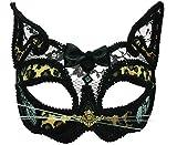 Kostüm Zubehör Carnival Halbschuhe Party Leopard Durchsichtig Gesichtsmaske