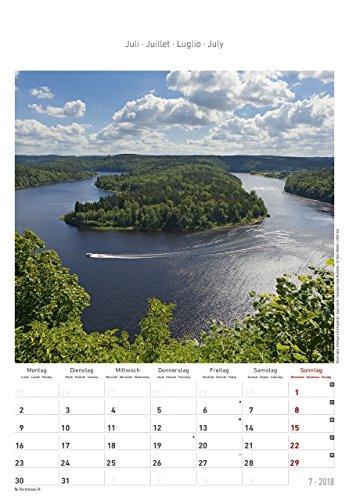 Thüringen 2018 - Bildkalender (24 x 34) - Landschaftskalender - 9