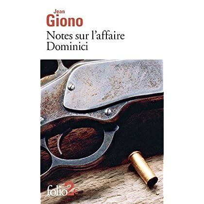 Notes sur l'affaire Dominici / Essai sur le caractère des personnages (Folio t. 4843)