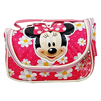 Disney Minnie Flowers Make Up Bag Bolsos Neceser Vanity Estuche Ninos