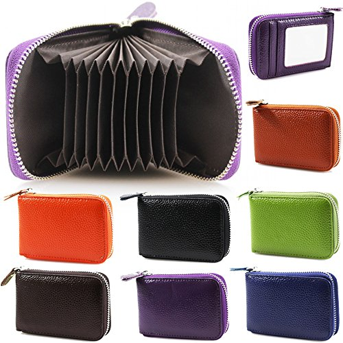 Ladies Womens Soft Leather Small Single Zip Coin Bag Pouch Wallet Coin Key  Purse New b564c47d81