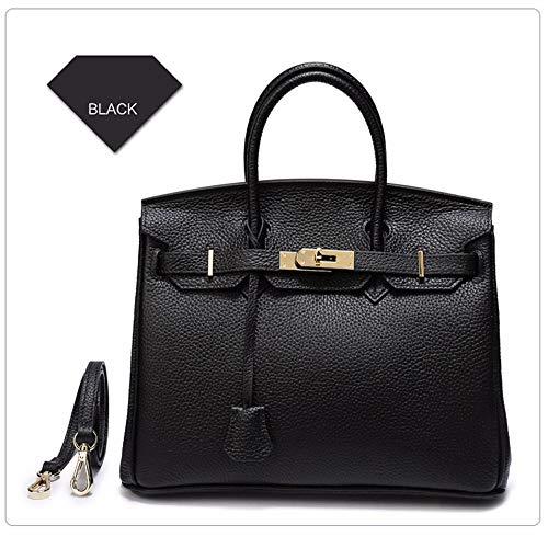 NM Womens Soft Leather Handtaschen Große Kapazität Top-Griff Casual Tote Schultertaschen,5 (Michael Kors Tote Handtaschen Billig)