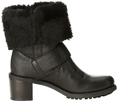 Clarks Pilico Place, Boots femme Noir (Black Leather)