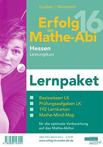 Erfolg im Mathe-Abi 2016 Lernpaket Hessen Leistungskurs: mit der Original Mathe-Mind-Map