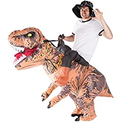 Hinchable Prima Dinosaurio Adulto Disfraz