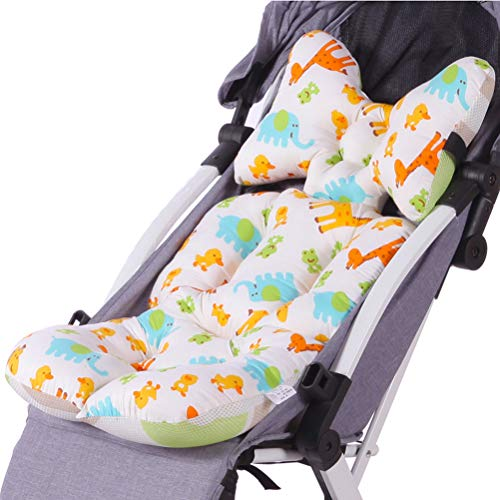 YeahiBaby Kinderwagen Sitzauflage Baumwolle Sitzkissen für Buggy Babyschale (Style C)