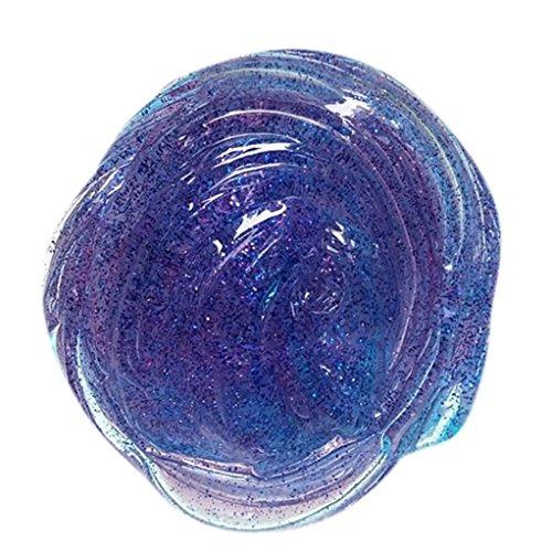 DOLDOA Schlamm Spielzeug ,Bunte weiche Slime Stress Relief Spielzeug Schlamm Spielzeug (B - 1)