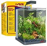SERA 31066biotop Nano LED Cube 16Un 16L d'eau Douce-Nano Aquarium Complet avec éclairage LED et 3Chambre à Filtre intérieur