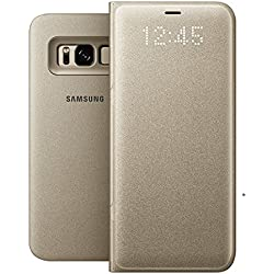 Samsung EF-NG950PSEGWW LED View Case pour Samsung Galaxy S8 - Doré