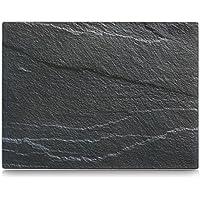 Zeller 26257 Glasschneideplatte Schiefer, anthrazit