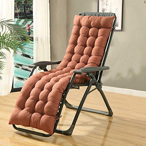 Klappbarer stuhl napping kissen Zweiseitige Liegestuhl bambus bank Schaukelstuhl kissen Universelle sofa sitzkissen Outdoor-holz chaise lounge Mit kissen für den außenbereich innenbereich -H