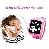 Misafes Smart Watch Montre intelligente GPS pour enfant Pour iOS/Android Moniteur de sécurité bébé 2voies de communication Localisation GPS Google Alerte SOS pour iPhone/Samsung/Huawei/Sony/HTC/LG