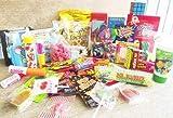 Geschenkbox mit Retrosüßigkeiten + Zauberwürfel