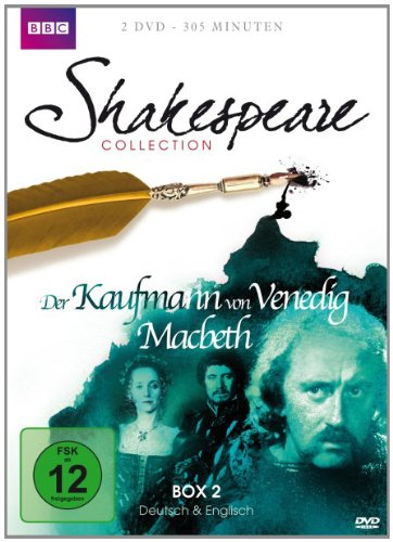 Shakespeare Collection, Vol. 2: Der Kaufmann von Venedig/Macbeth (2 DVDs)