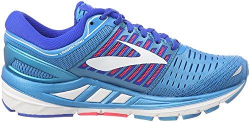 Brooks Transcend 5, Scarpe da Running Donna Blu (Blue/Pink/White 1B474)
