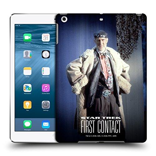 Head Case Designs Offizielle Star Trek Volles Kostüm Zefram Cochrane Der Erste Kontakt TNG Ruckseite Hülle für iPad Air ()