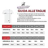 Bikerella T-Shirt Manica Corta Unisex Bob Marley By Bianco/Nero XXXL