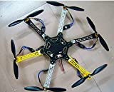 XINTE F550 6-Achsen-Controller FlameWheel KK 2.3 Hexacopter RTF W / ESC Motor Propeller Batterie TX RX