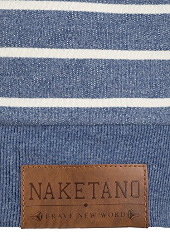 Naketano - Sweat-shirt - Uni - Femme Blue Melange