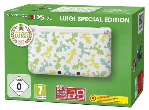 Nintendo 3DS XL - Konsole Grün (Luigi Limited Edition) (3ds Xl Konsole Limited Edition)