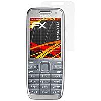 3 x atFoliX Protector Película Nokia E52 Lámina Protectora - FX-Antireflex-HD Antirreflejo para pantallas de alta resolución